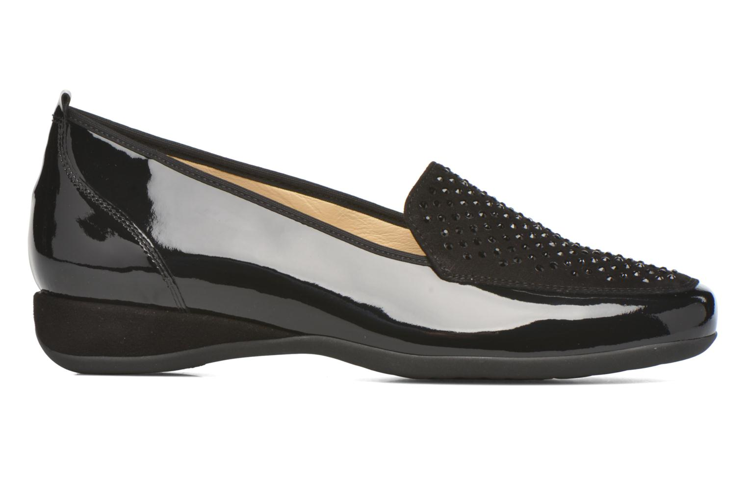 Loafers Hassia Petra 1744 Black back view