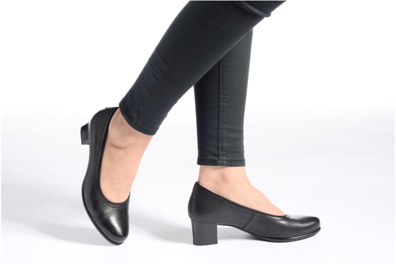 Zapatos de tacón Hassia Paris 4801 Negro vista de abajo