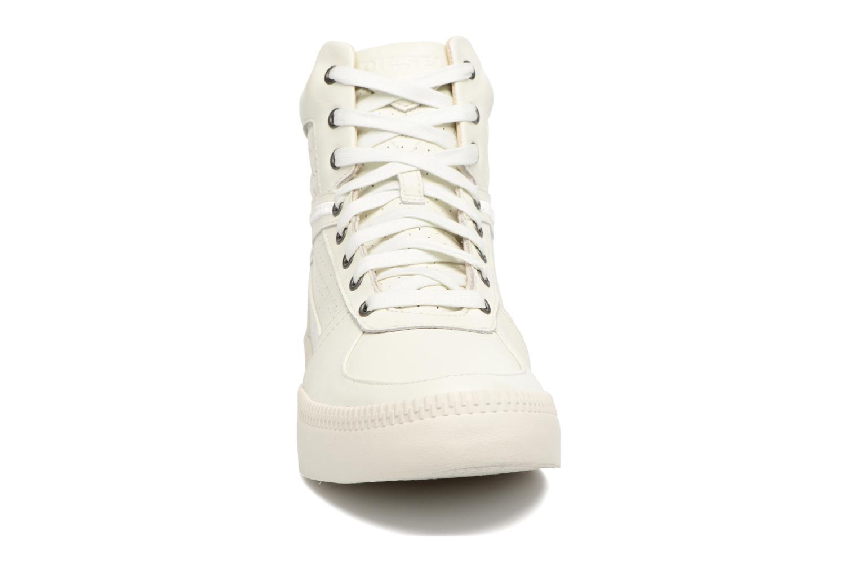 Baskets Diesel S-Spaark Mid Blanc vue portées chaussures