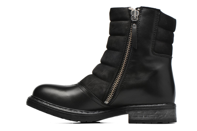 Bottines et boots Diesel D-My Rock Pad Noir vue face