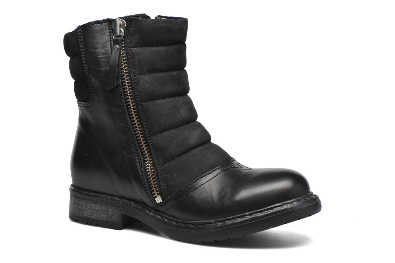 Bottines et boots Diesel D-My Rock Pad Noir vue détail/paire