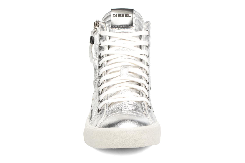 Sneaker Diesel D-String Plus W silber schuhe getragen