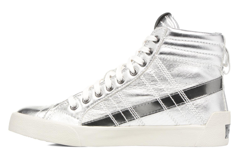 Sneaker Diesel D-String Plus W silber ansicht von vorne