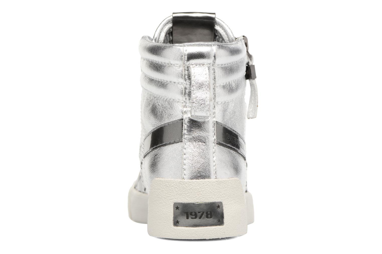 Sneaker Diesel D-String Plus W silber ansicht von rechts