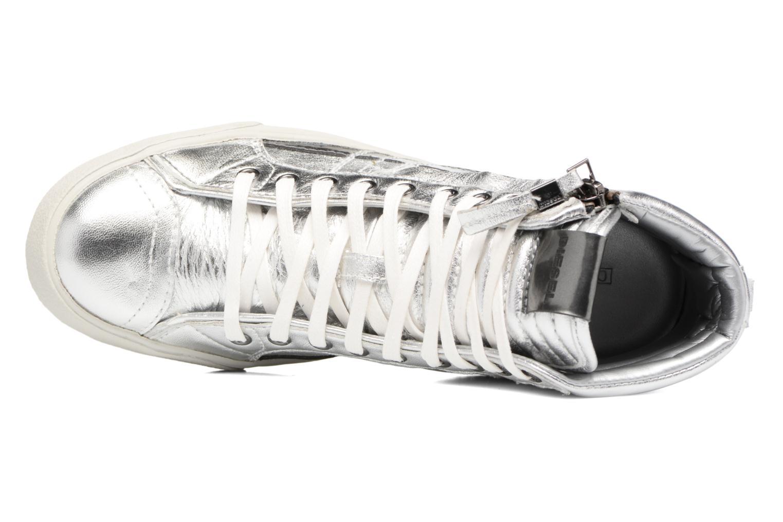 Sneaker Diesel D-String Plus W silber ansicht von links