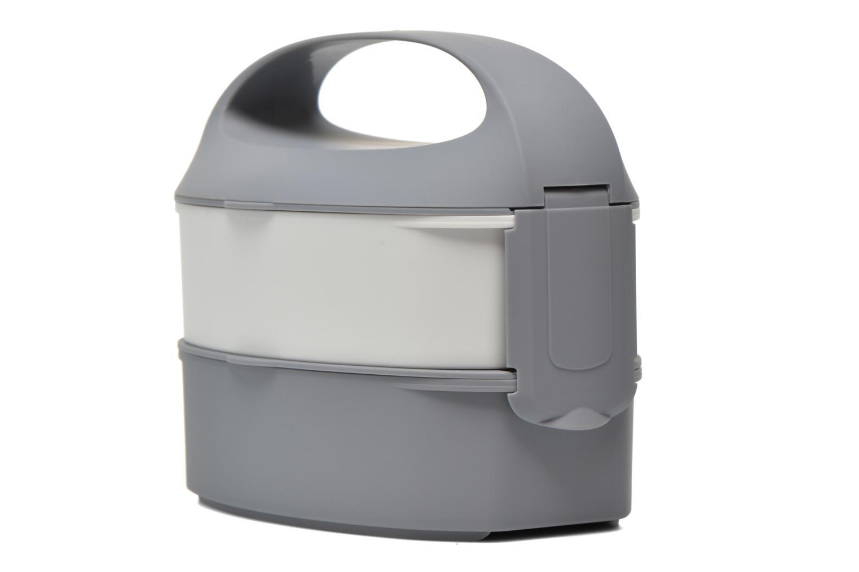 Divers G. Lunch Bento box poignée amovible Gris vue droite