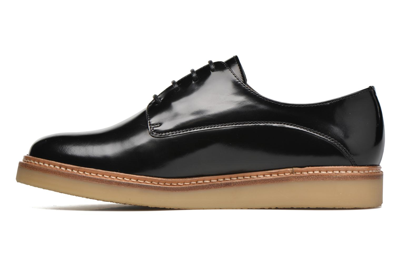 Chaussures à lacets Heyraud Damia Noir vue face