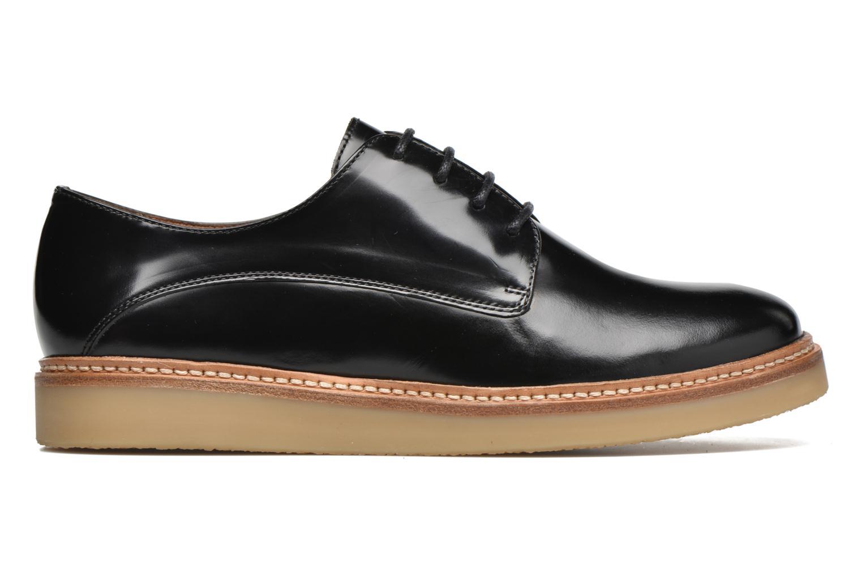 Chaussures à lacets Heyraud Damia Noir vue derrière