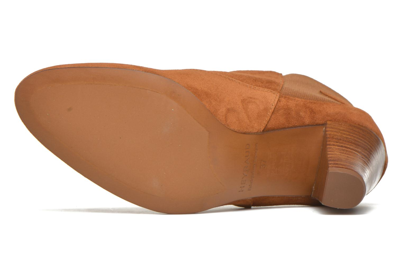 Ankle boots Heyraud Daisy Brown view from above