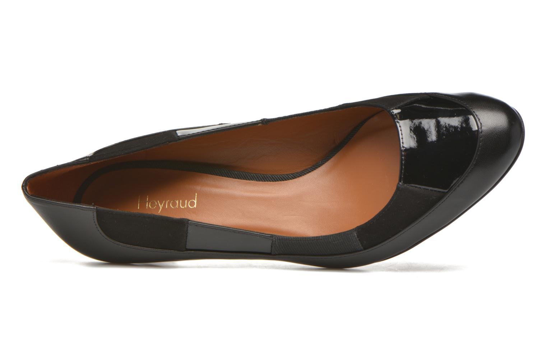 High heels Heyraud Danna Black view from the left