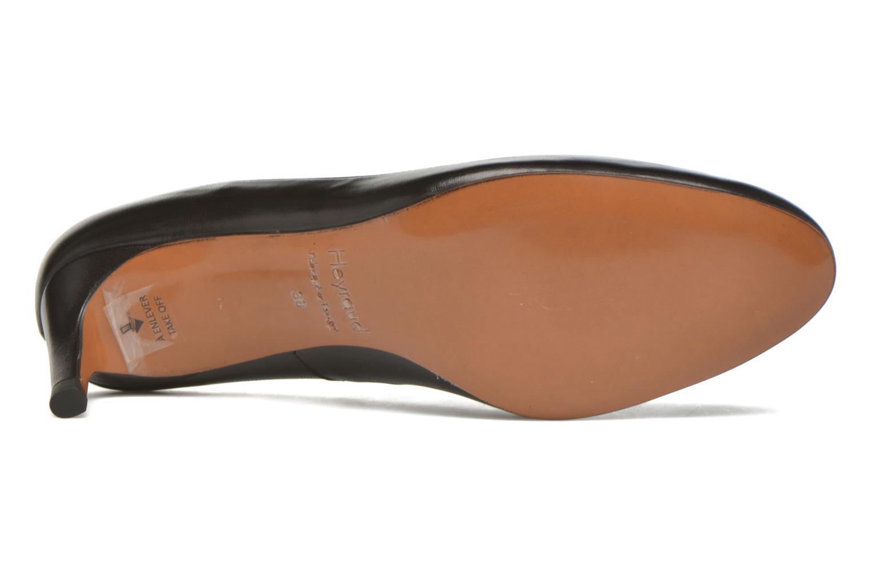 High heels Heyraud Danna Black view from above