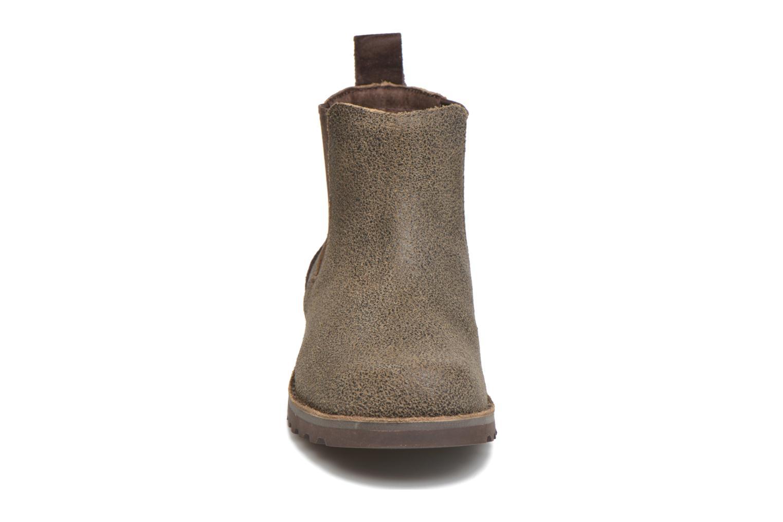 Bottines et boots UGG Callum Bomber Marron vue portées chaussures