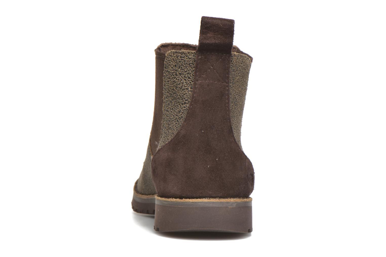 Bottines et boots UGG Callum Bomber Marron vue droite