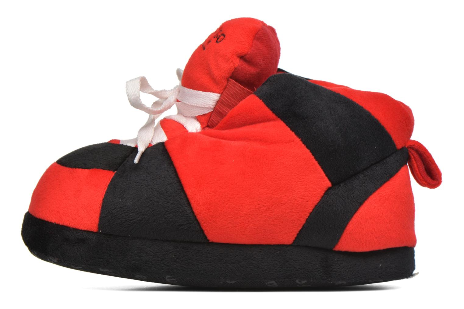 Chaussons Sleeperz Chicago Bulls K Rouge vue face