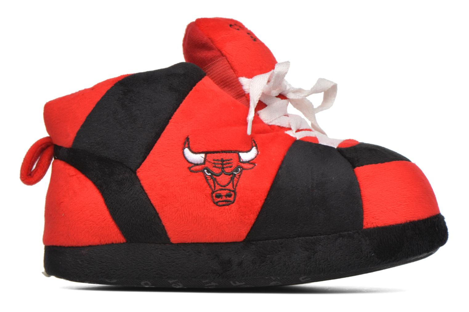 Chaussons Sleeperz Chicago Bulls K Rouge vue derrière