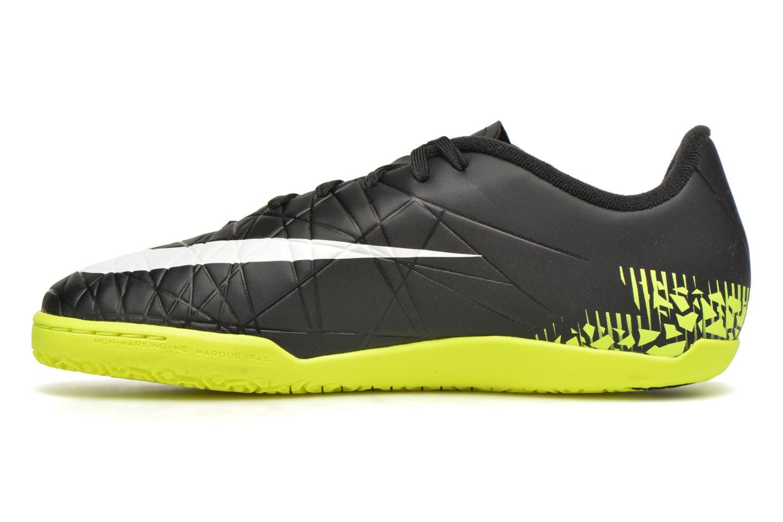 Deportivas Nike Jr Hypervenomx Phelon II Ic Negro vista de frente