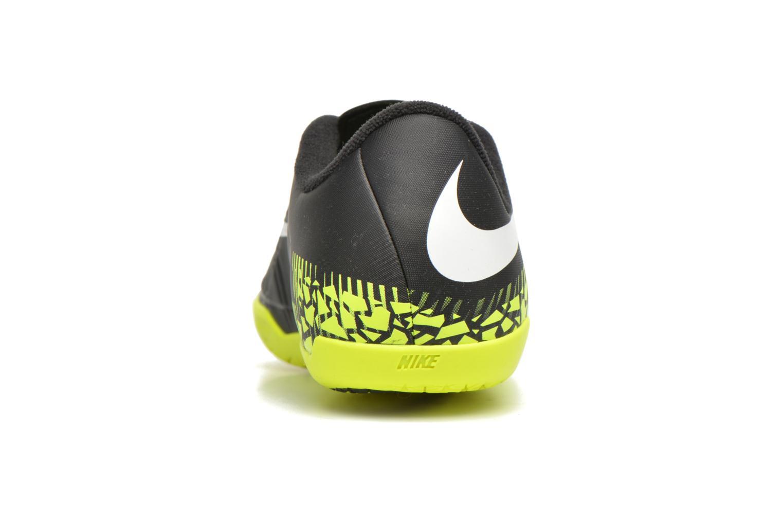 Deportivas Nike Jr Hypervenomx Phelon II Ic Negro vista lateral derecha