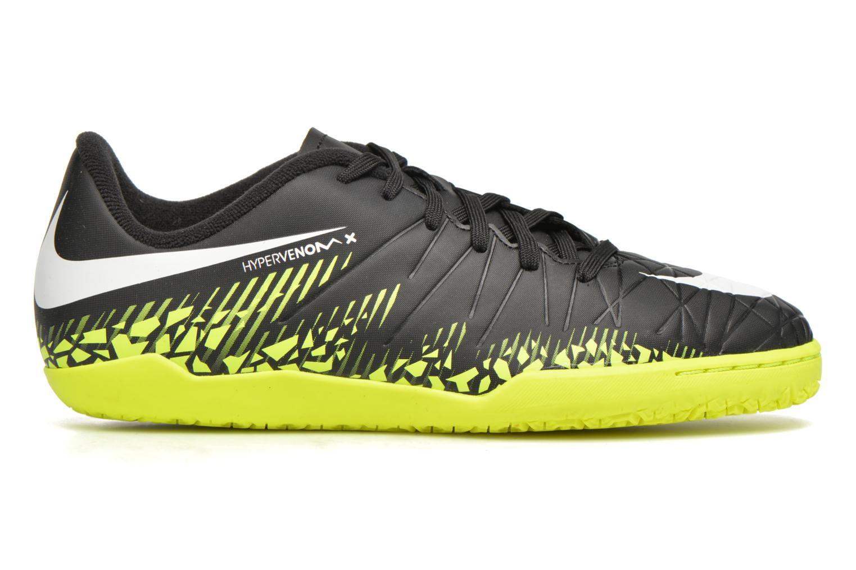 Deportivas Nike Jr Hypervenomx Phelon II Ic Negro vistra trasera