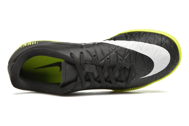 Deportivas Nike Jr Hypervenomx Phelon II Ic Negro vista lateral izquierda