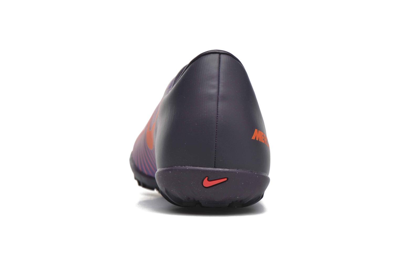 Baskets Nike Jr Mercurialx Vapor XI Tf Violet vue droite