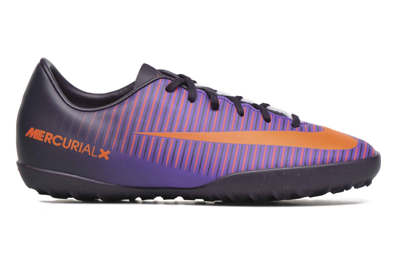 Sneaker Nike Jr Mercurialx Vapor XI Tf lila ansicht von hinten