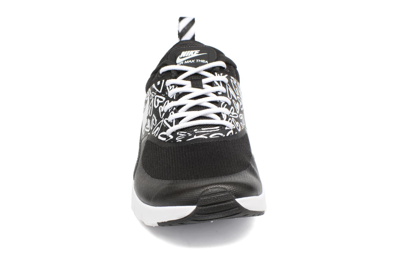 Baskets Nike Nike Air Max Thea Print (Gs) Noir vue portées chaussures