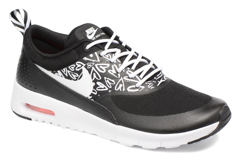 Nike Air Max Thea Print (Gs) Black/White-Lava Glow
