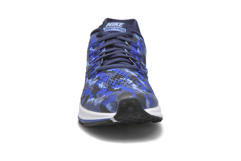Sneaker Nike Nike Zoom Pegasus 33 Print Gs blau schuhe getragen