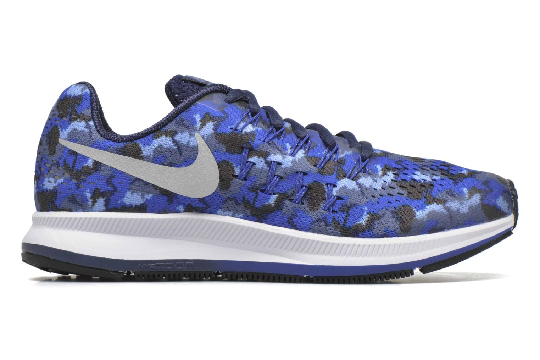 Sneaker Nike Nike Zoom Pegasus 33 Print Gs blau ansicht von hinten