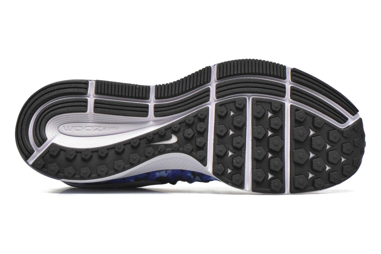 Sneaker Nike Nike Zoom Pegasus 33 Print Gs blau ansicht von oben