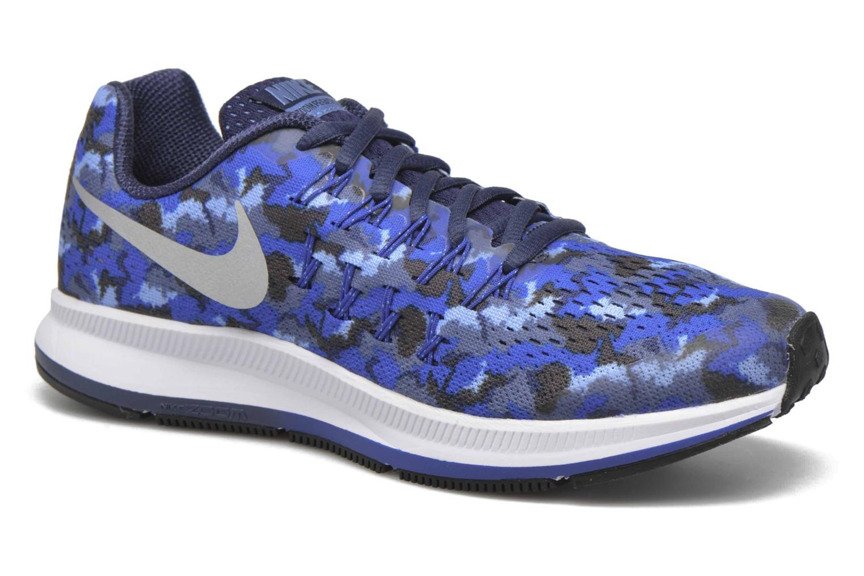 Sneaker Nike Nike Zoom Pegasus 33 Print Gs blau detaillierte ansicht/modell