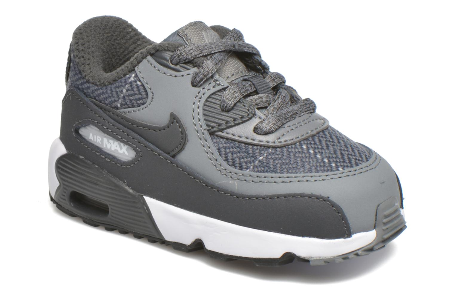 Nike Air Max 90 Se Ltr (Td) Cool Grey/Anthracite-Wolf Grey-White