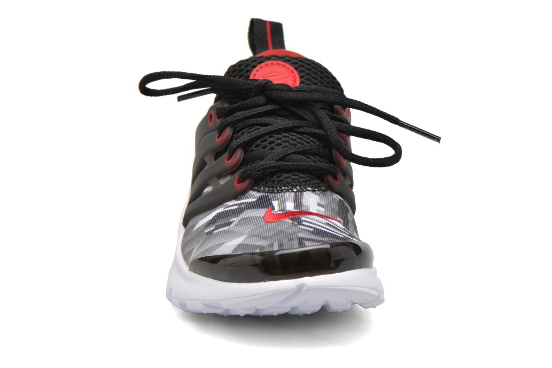 Nike Presto Print (Ps) Black/Gym Red-Wolf Grey-White
