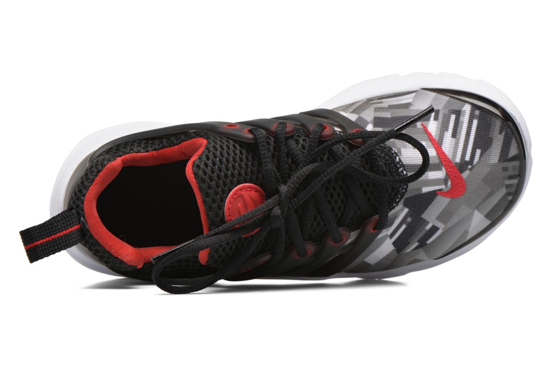 Sneaker Nike Nike Presto Print (Ps) schwarz ansicht von links