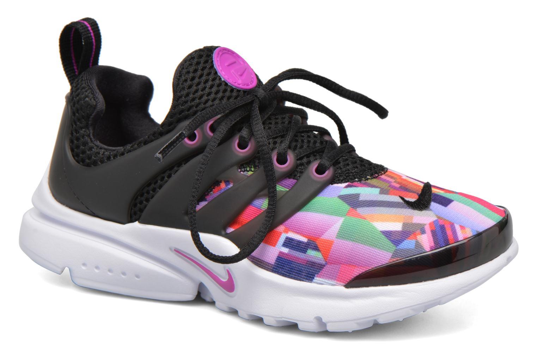 Nike Presto Print (Ps) Black/Hyper Violet-Hyper Violet-White