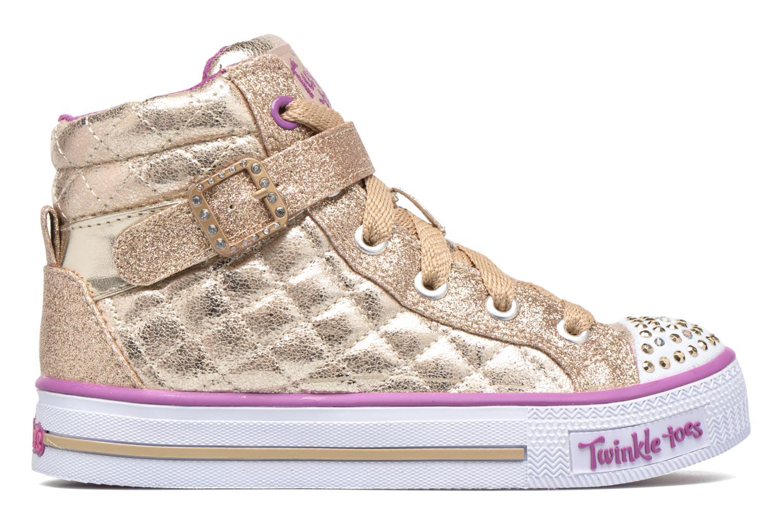 Baskets Skechers Shuffles Sweetheart Sole Or et bronze vue derrière