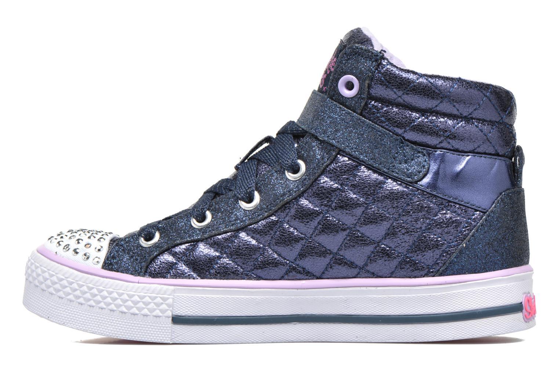 Sneakers Skechers Shuffles Sweetheart Sole Azzurro immagine frontale