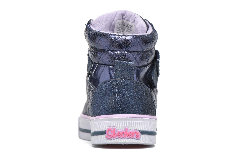 Sneakers Skechers Shuffles Sweetheart Sole Azzurro immagine destra