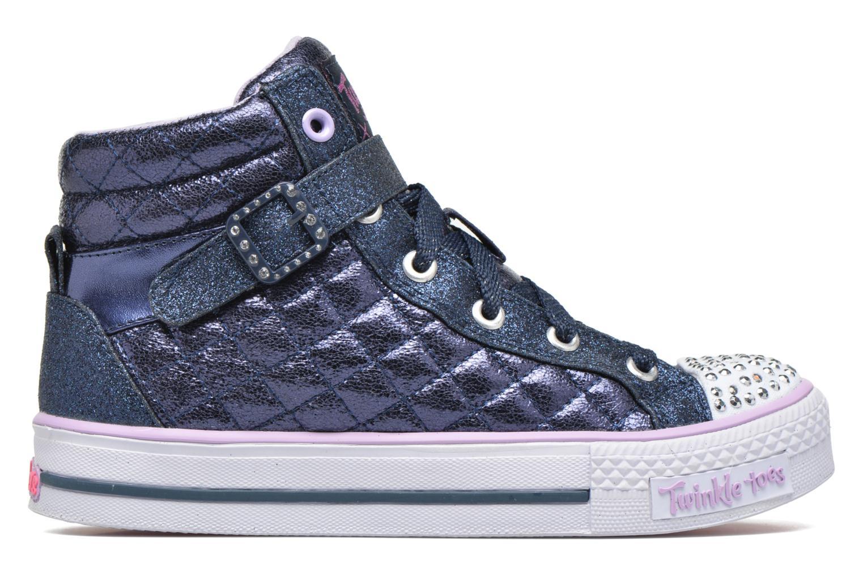 Sneakers Skechers Shuffles Sweetheart Sole Azzurro immagine posteriore