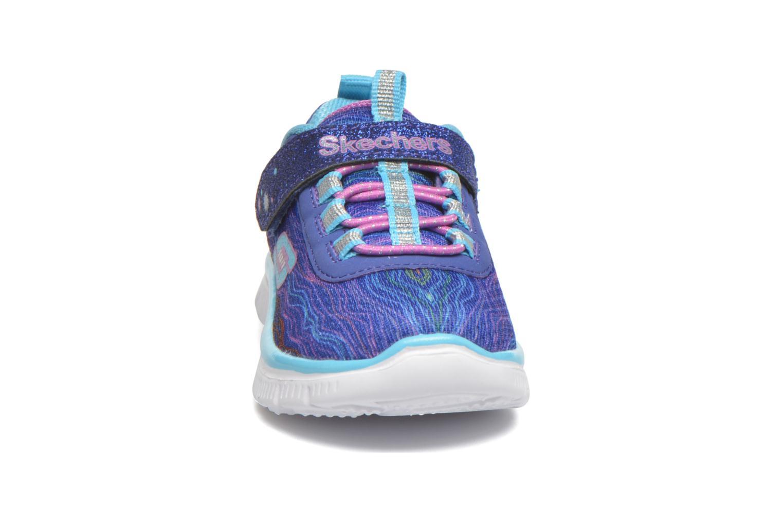 Baskets Skechers Skech Appeal Sittin' Pretty Bleu vue portées chaussures
