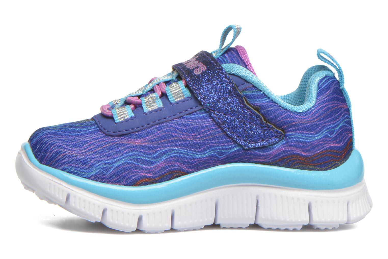 Sneaker Skechers Skech Appeal Sittin' Pretty blau ansicht von vorne