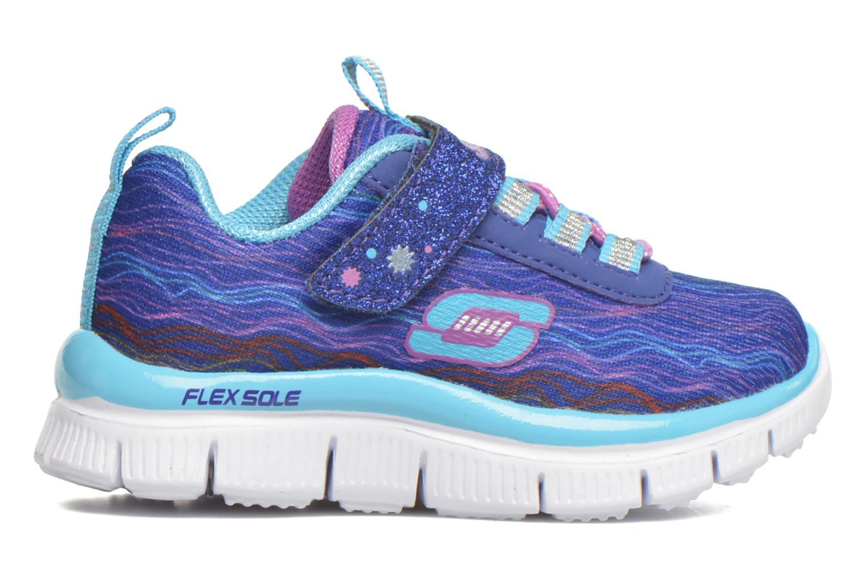 Sneaker Skechers Skech Appeal Sittin' Pretty blau ansicht von hinten
