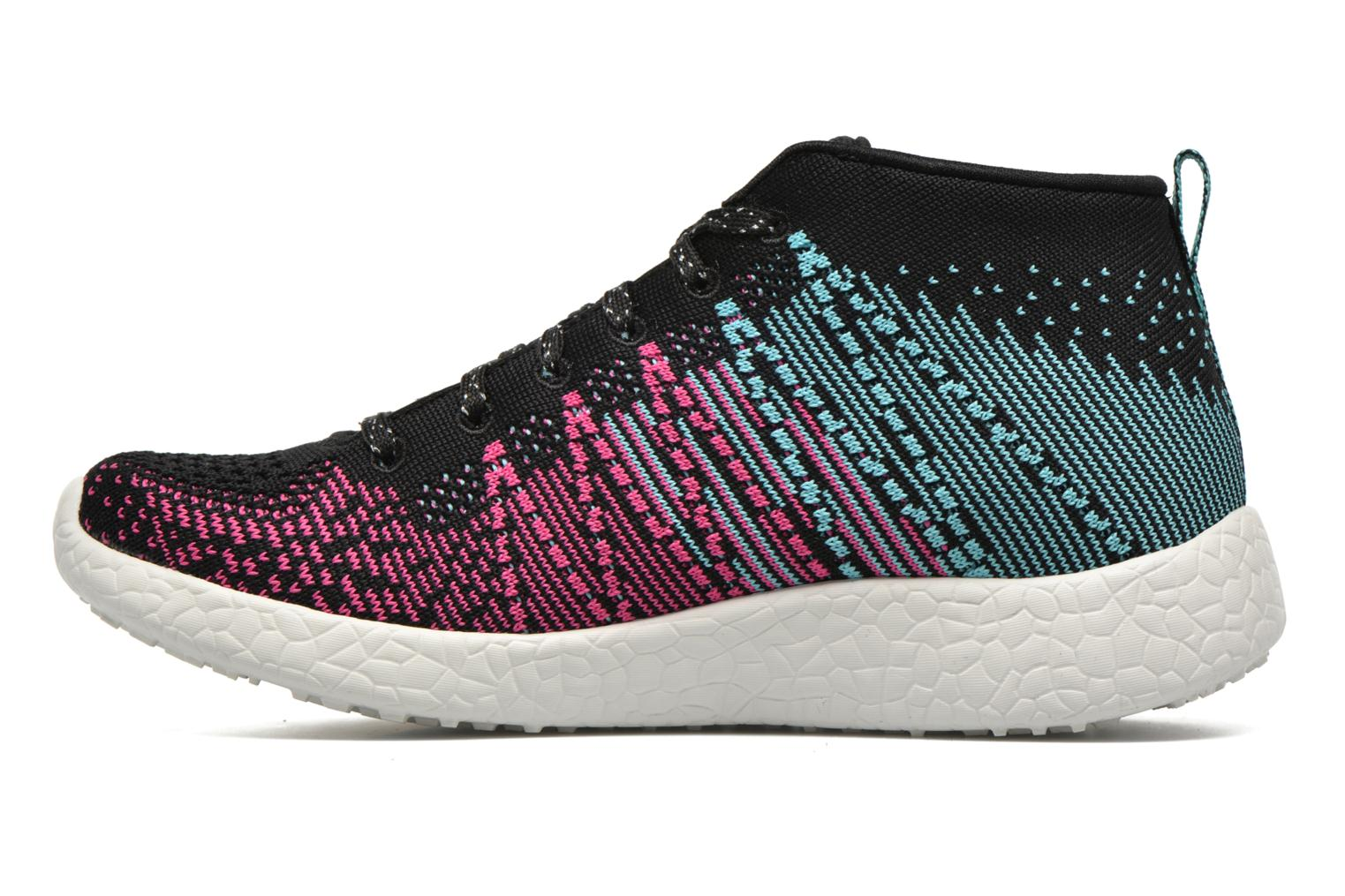 Trainers Skechers Burst Sweet Symphony Black front view