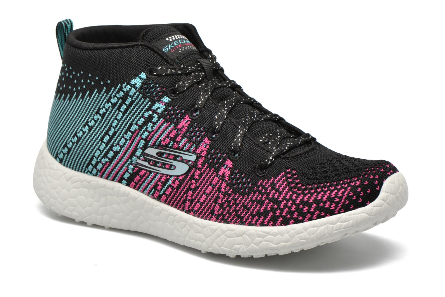 Trainers Skechers Burst Sweet Symphony Black detailed view/ Pair view