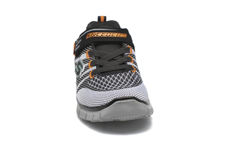 Baskets Skechers Flex Advantage Master Mind Noir vue portées chaussures