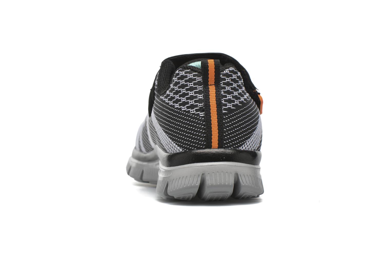 Sneaker Skechers Flex Advantage Master Mind schwarz ansicht von rechts