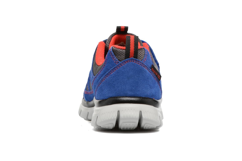 Baskets Skechers Flex Advantage Master Mind Bleu vue droite