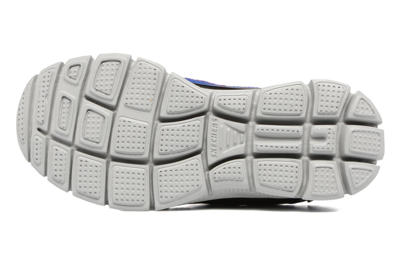 Baskets Skechers Flex Advantage Master Mind Bleu vue haut