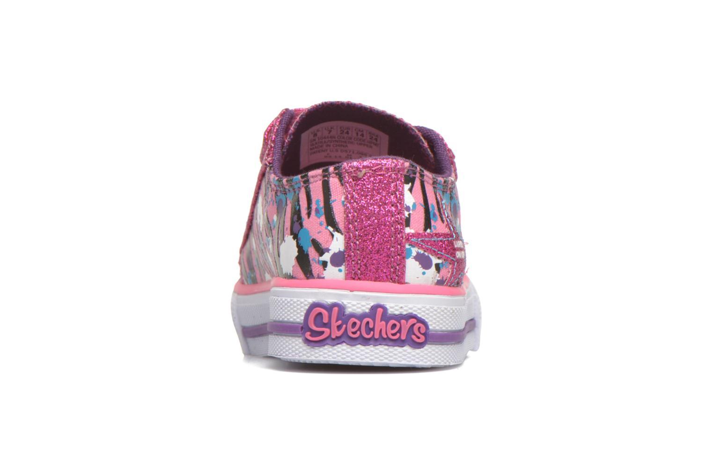 Sneaker Skechers Shuffles Glitter N Glitz Little rosa ansicht von rechts