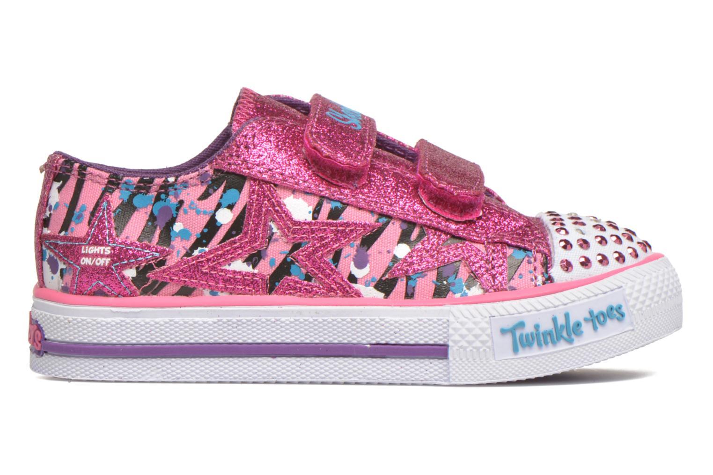 Sneaker Skechers Shuffles Glitter N Glitz Little rosa ansicht von hinten
